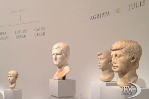 Archeo arte, imperatore Augusto e Grandeur di Parigi in mostra