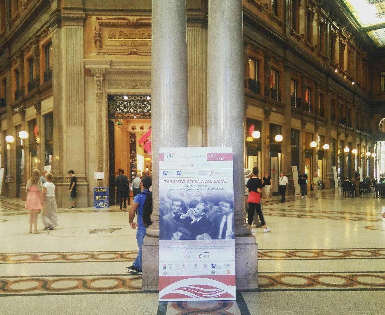 In Galleria Alberto Sordi foto inedite di Aldo Moro